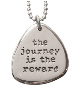 women runners jewelry journey necklace