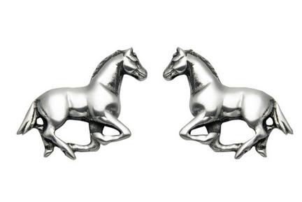 women runners jewelry horse studs